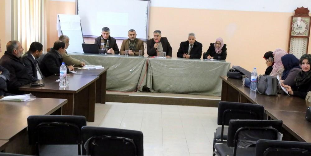 تعليم خانيونس يشرع بتقييم معلمي اللغة العربية المرشحين للتميز