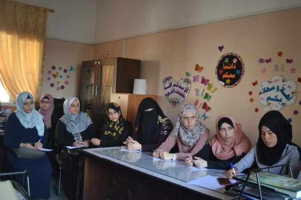 تعليم شرق غزة يعقد اجتماعاً للمرشدين التربويين الجدد