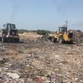 بلدية غزة رحلت 26 ألف طن من النفايات خلال الشهر الماضي