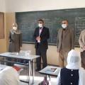 تعليم شمال غزة يتفقد  العملية التعليمية والإجراءات الصحية بالمدارس