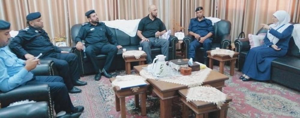 بيت الأمان للرعاية الاجتماعية يعزز تعاونه مع الإدارة العامة لشرطة الأمن والحراسات