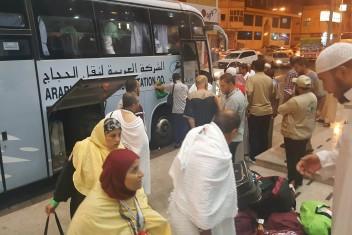 ادعيس: وصول جميع الحجاج الفلسطينيين إلى السعودية
