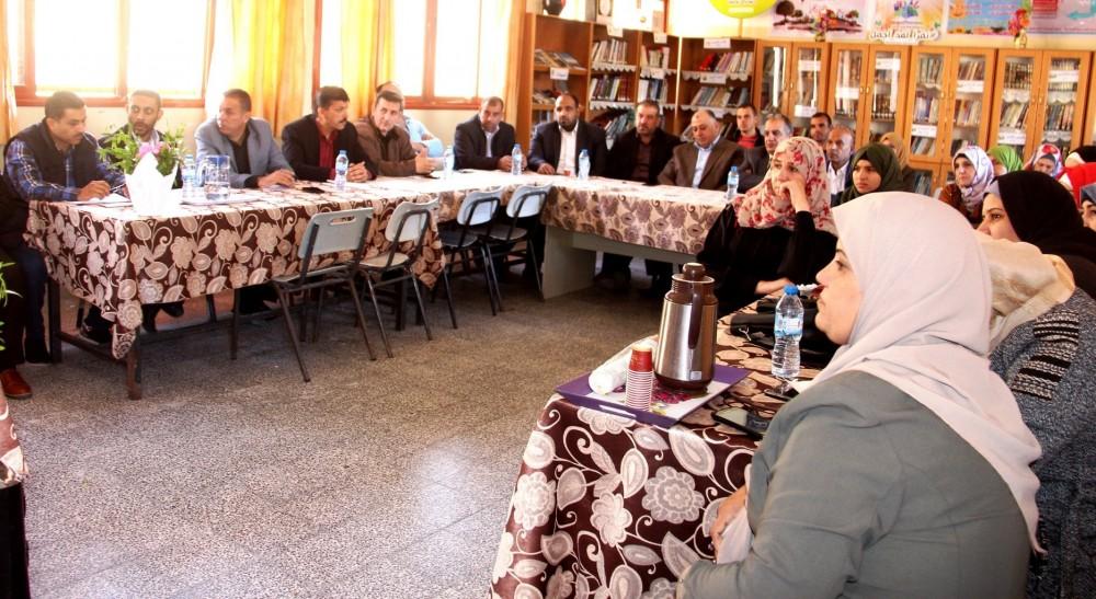 تعليم رفح تعقد اجتماع الجمعية العمومية للمجلس الأعلى لأولياء الأمور