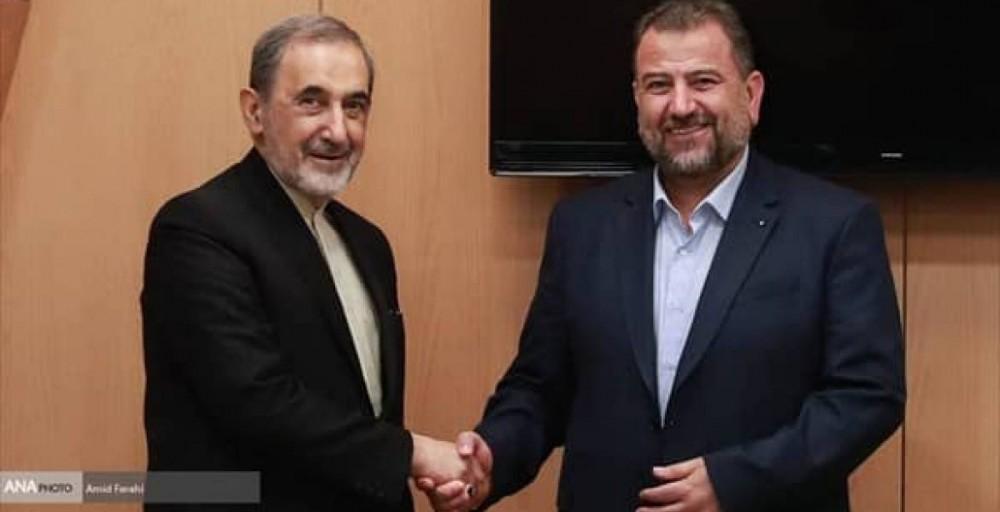 وفد حركة حماس يلتقي د. علي أكبر ولايتي