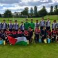 عودة وفد نادي أكاديمية نادي هلال غزة الرياضي من ايرلندا