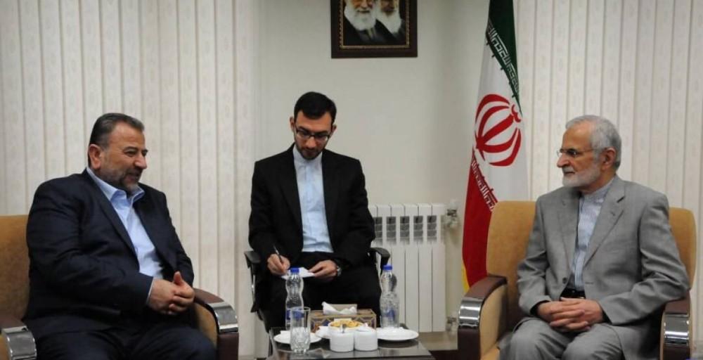 وفد حماس يلتقي خرازي في طهران