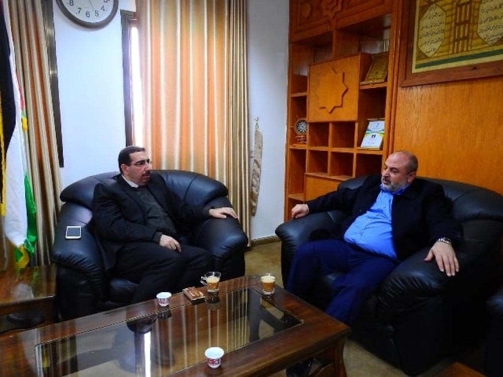 وزارة المواصلات تبحث تعاونها مع  البنك الوطني الإسلامي