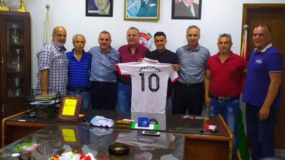 نادي غزة الرياضي يضم لاعب اتحاد خان يونس
