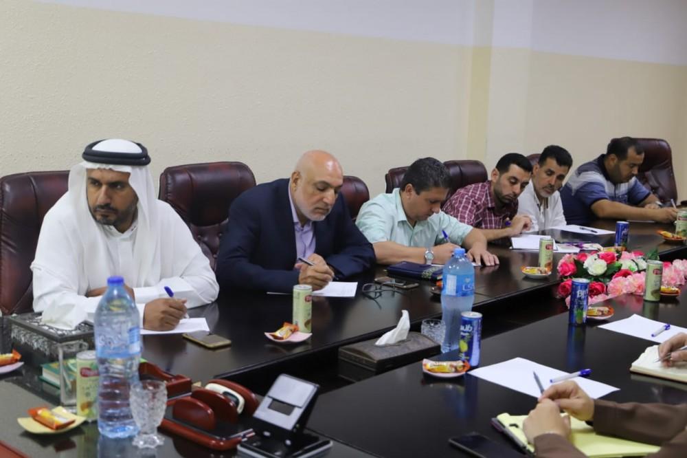 رؤساء بلديات الشمال يناقشون المنحة الكويتية مع  الحكم المحلي