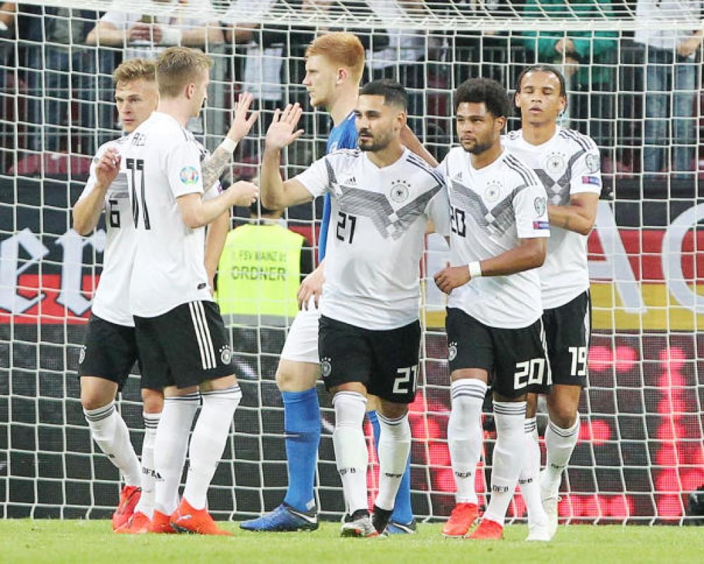 تصفيات كأس اوروبا 2020: ثمانية أهداف لألمانيا وفرنسا تعوض خيبتها وايطاليا تفرض هيبتها