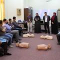 نظم مركز التدريب على إدارة الطوارئ والأزمات (حياة)،  بالتعاون مع مؤسسة جذور للإنماء الصحي والاجتماعي