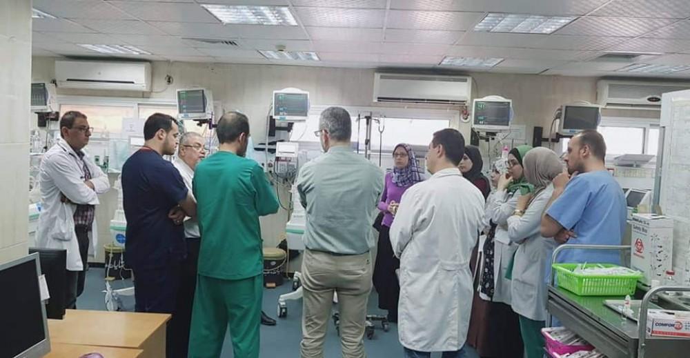 مستشفى النصر للأطفال تستقبل أخصائي حديثي الولادة بمستشفى المقاصد