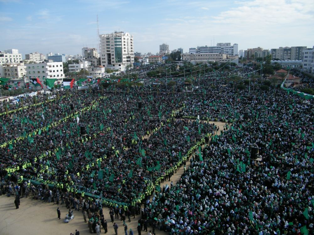 انطلاقة حماس في غزة
