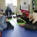 خدمات الطفولة بغزة تنفذ محاضرة تثقيفية قانونية للنساء