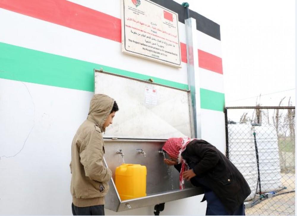 عطاء فلسطين تُسلم مشروع تحلية المياه الجوفية لبلدية النصر برفح