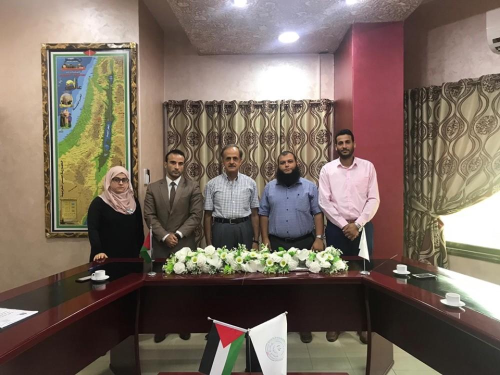 وزارة العمل تبحث تعزيز البحث العلمي مع جامعة فلسطين
