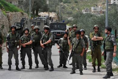 الاحتلال يوقف العمل في مدرسة شرق بيت لحم