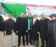 زيارة طاقم وزارة الإعلام للمفرج عنهم من سجون مصر... تصوير: رشاد الترك