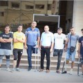 مستشفى حمد يجري عمليات تركيب للأطراف الصناعية بغزة