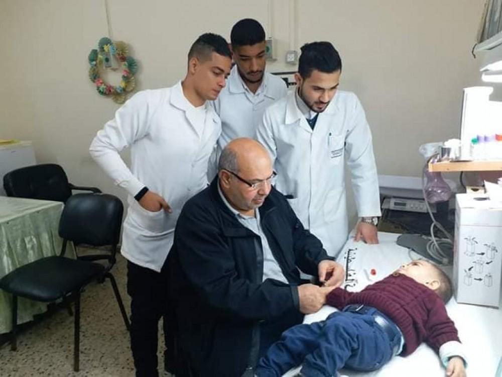 عيادات مستشفى النصر تقدم خدماتها لأكثر من