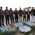 زيارة قبر الصحفي محمد جودة