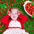 فوائد الفراولة للطفل؟