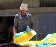 الزراعة بغزة توزع أسمدة على المزارعين ضمن المنحة الحكومية لدعمهم في ظل