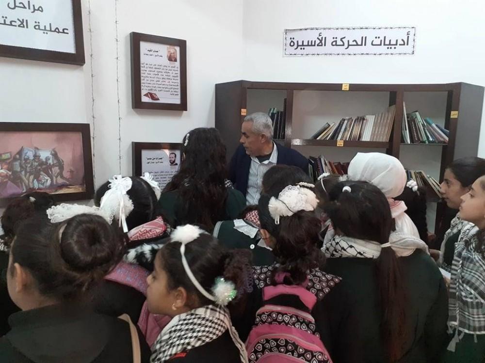 وزارة الأسرى تستقبل مجموعة طلابية من مدرسة حفصة بنت عمر