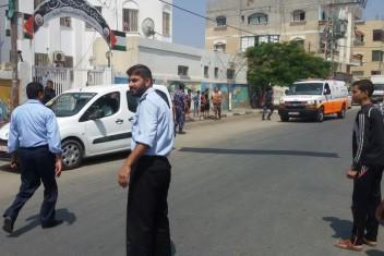 مصرع طفل بحادث سير شرق غزة