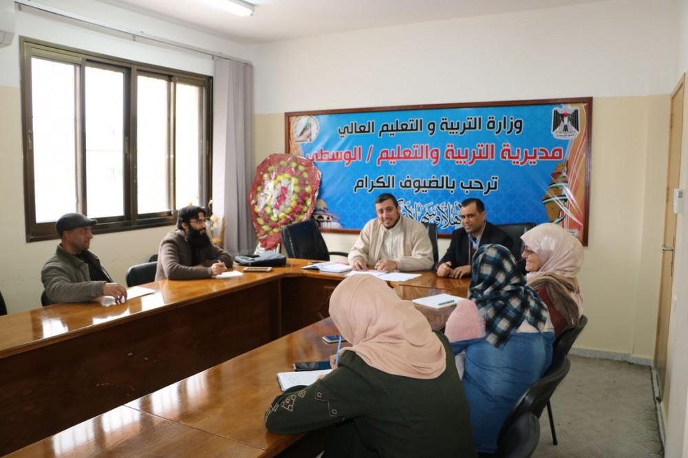 تربية الوسطى تعقد اجتماعاً لبحث الاستعدادات لمؤتمر الحالة الإرشادي الرابع