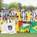 تعادل فريقي تشامبيونز الفلسطيني والبرازيل في بطولة دونستي الدولية