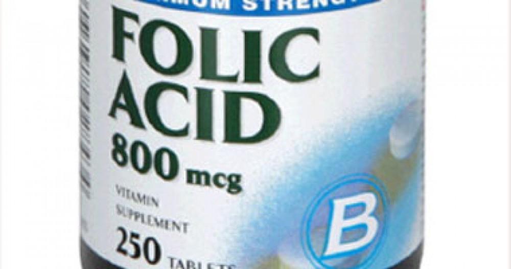 ماذا يحدث لجسمك عند تناول حمض الفوليك بكثرة
