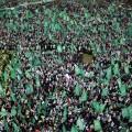 جماهير شاركت بانطلاقة حماس