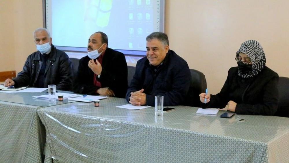 التعليم في خان يونس يعقد اجتماع للمشرفين التربويين