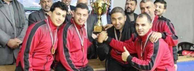 المجمع الإسلامي و أرثوذكسي القدس بطلي كأس سوبر الطاولة في فلسطين