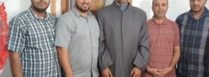 مدير أوقاف غزة يبحث سبل التعاون مع رابطة علماء فلسطين