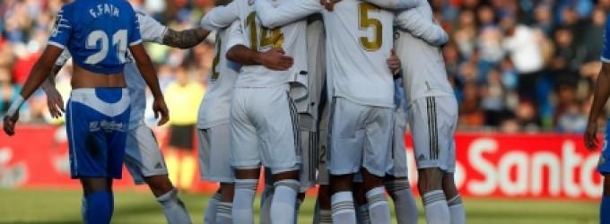ريال مدريد يعبر خيتافي بالثلاثة ويتصدر الدوري الإسباني مؤقتا