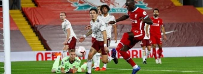 بطولة انكلترا: ليفربول يواصل انطلاقته القوية ويسقط أرسنال