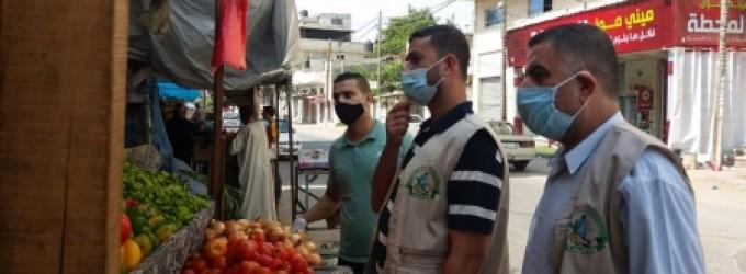زراعة غزة تنظم جولات ميدانية على نقاط البيع لمراقبة الاسعار