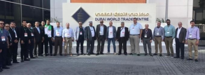 وفد من جمعية رجال الاعمال بغزة يشارك بمعرض المنتجات الصينية في دبي