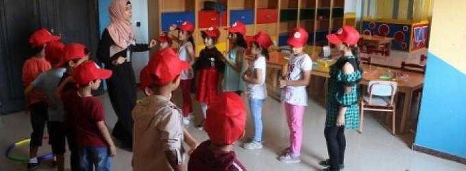 انطلاق فعاليات مخيم  أُبدِع مَع إعمار 3  بخان يونس