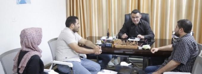 التنمية الاجتماعية تبحث تعاونها مع جمعية مبرة فلسطين