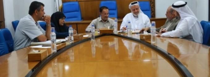 اللجنة الاقتصادية بالتشريعي تلتقي وكيل وزارة المالية
