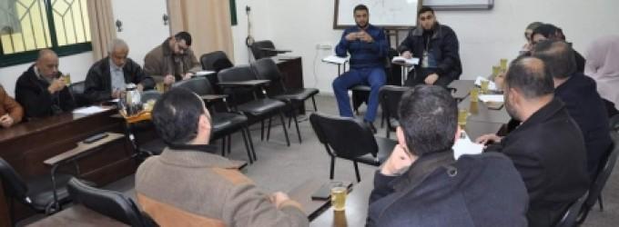 وزارة الداخلية تنظم ورشة عمل لتعزيز سلوك الموظفين
