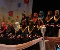 تكريم أوائل طلبة التوجيهي في غرب غزة/ تصوير علاء السراج