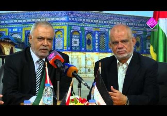 السقا يتسلم من أبو السبح وزارة العدل 4-6-2014