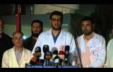 مؤتمر وزارة الصحة حول العدوان الإسرائيلي 10-7-2014