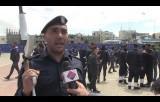 من حفل تخريج دورة غزة سيف الاقصى