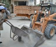 عمال نظافة