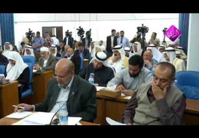 التشريعي يعقد جلسته بحضور الوجهاء في ذكرى النكبة